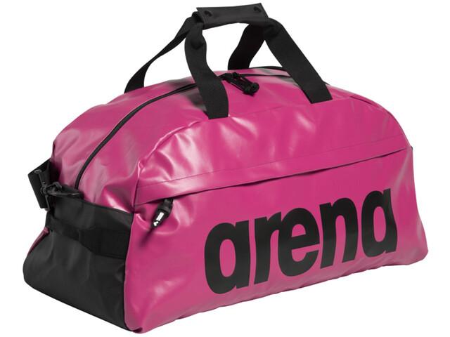 arena Team 40 All Black Duffle, rosa/negro